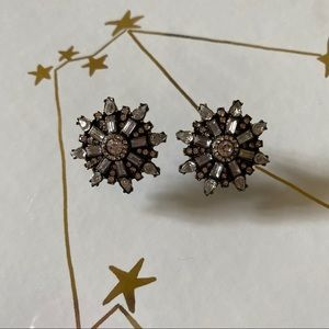 BAUBLEBAR RHINESTONE STUD EARRINGS